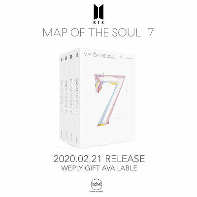 BTS: MAP OF THE SOUL 7 <PRE-ORDER> INCLUDES Mystery GIFT