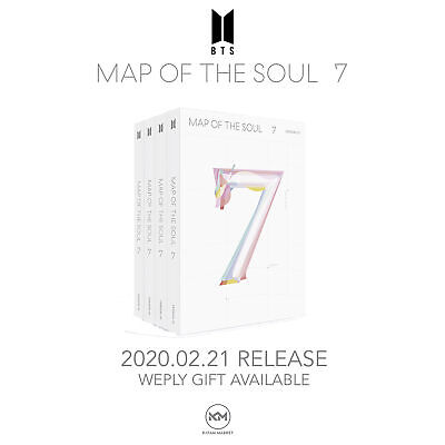 BTS: MAP OF THE SOUL 7 <SHIPS NEXT WEEK>  INCLUDES Mystery GIFT