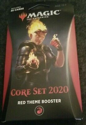 Magic The Gathering Core Set 2020 - Red Theme Booster