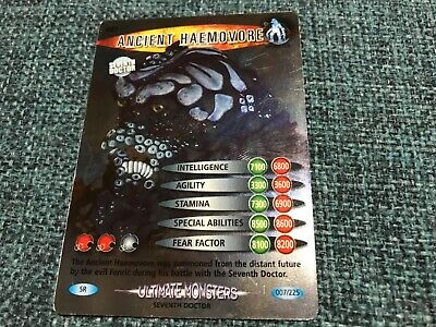 Doctor who battles in time Super Rare Ultimate monsters cards