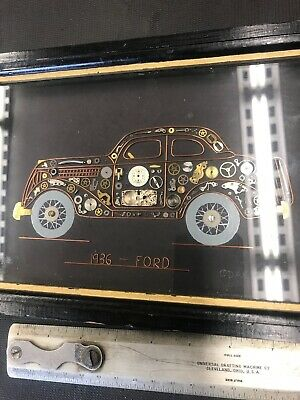 Steampunk Art 1936 Ford Assorted Parts From Watches And Other Very Well Made