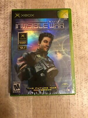 Deus Ex: Invisible War (Microsoft Xbox, 2003) Brand New Factory Sealed