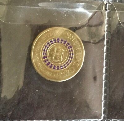 2013 $2 Coin -  Queen Elizabeth II Coronation 60th Anniversary - Circulated