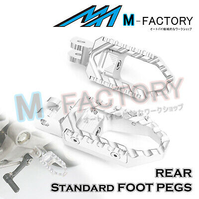 FIt Honda XL1000 Varadero/ABS 99-15 SI Billet Rear Wide Travel Foot Pegs Pedals