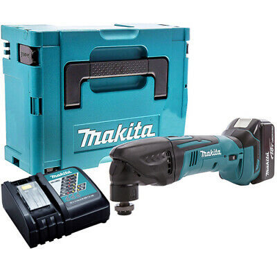 Makita DTM50Z LXT 18V Oscillating Multitool + 1 x 4ah BL1840, DC18RC & Case