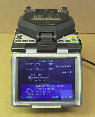 SUMITOMO Direct Core Monitoring Fusion Splicer Micro Core Type-37/ FC-6S Cleaver
