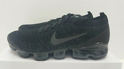 Nike Air Vapormax Flyknit 3 Triple Black AJ6900 004 Mens Trainers All Size