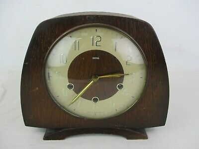 Vintage Smiths Westminster Chiming Mantle Clock *No Key*