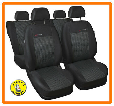 Fully tailored seat covers for Vauxhall Astra H  Full set