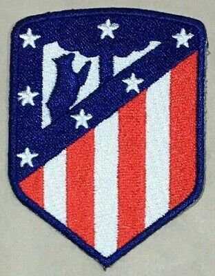Parche Termoadhesivo | Atlético de Madrid  Oficial | Bordado | 55x75 mm | Patch