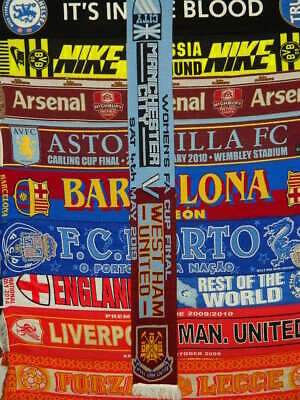 5/5 Manchester City vs West Ham 2019 women's fa cup final football scarf soccer