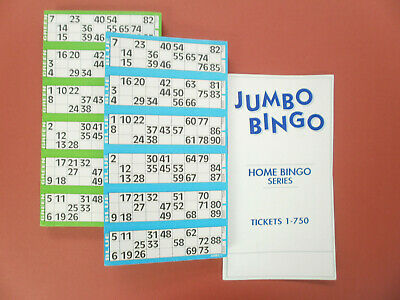 1500 Tickets 2 x 750 ticket BINGO Flyer PADS 25% more tickets than 600 Pads