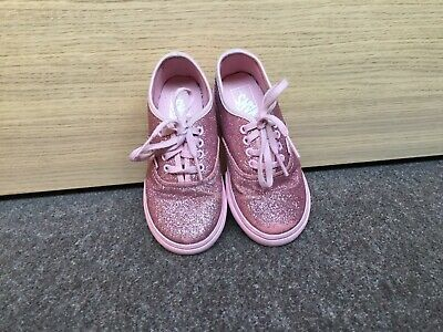 Vans Girls Glittery Shoes Trainers