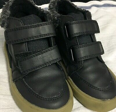Baby Boys Next Black. Boots Size 6 Infant New Without Tags