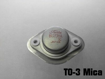 +Top Hat Bushes for TO3 Silicone MEC MK3301//S THERMAL INSULATOR PAD 2 Sets