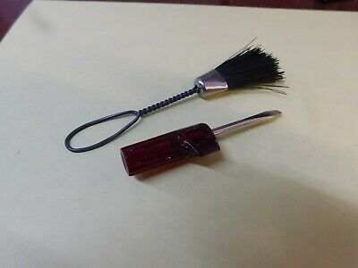 D5      Vintage SINGER SIMANCO SEWING MACHINE SCREWDRIVER & Brush