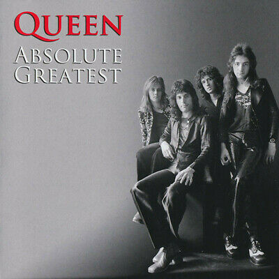 QUEEN Absolute Greatest Hits 20 Trk CD Album The Very Best Of Collection Singles