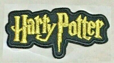 Parche Termoadhesivo | Harry Potter | Bordado | 70x35 mm | Patch