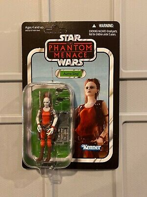 Star Wars Vintage Collection Aurra Sing 3.75  VC73 New Unpunched