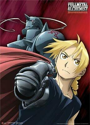 *NEW* Fullmetal Alchemist Brotherhood: The Elric Brothers Fabric Poster