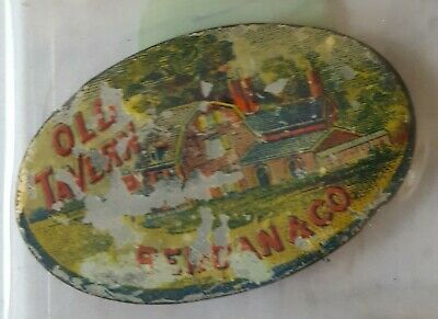 Antique ~ Old Tavern~ Tobacco Tag