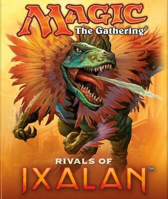 MTG - Rivals of Ixalan - Complete Uncommon / Common + 5 Basic Land Set - NM/MINT
