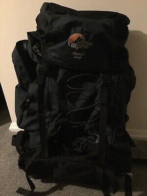 Lowe Alpine Appalachian 65 + 15 Litre Air Cooled Back System Rucksack Backpack