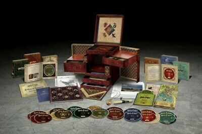 Harry Potter Wizards Collection Bluray Box Set Collectors Item
