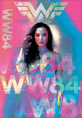 "Wonder Woman 1984 (11"" x 17"") Movie Collector's Poster Print  Gal Gadot 2020"