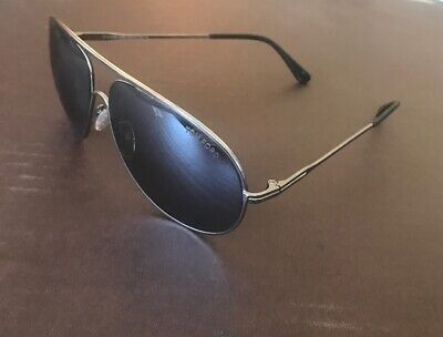 New Tom Ford Cliff Aviator sunglasses TF0450 02N 61mm Black Green AUTHENTIC 450