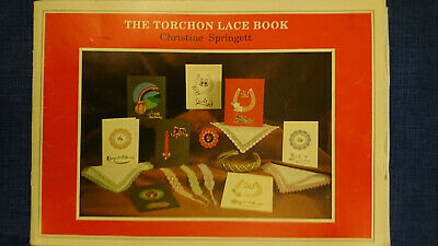 Lacemaking Book : The Torchon Lace Book By Christine Springett