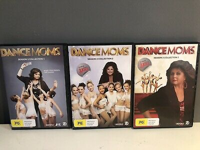 Dance Moms Season 3, Collection 1, 2 & 3 Ex Condition