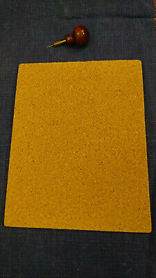 lacemaking supplies - cork board and pricker