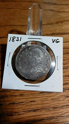 1831 Capped Bust Liberty Half Dollar
