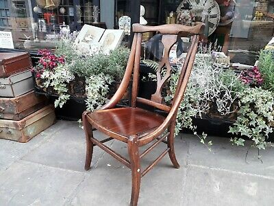 Antique Chair / Arts and Crafts Oak Chair.