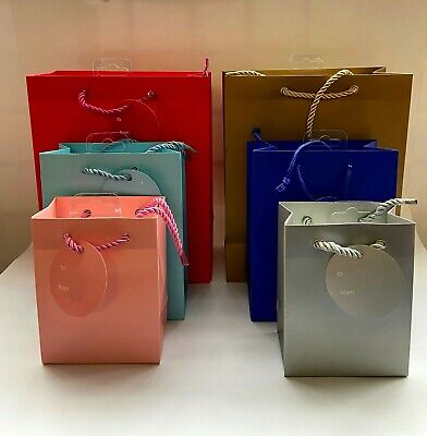 Luxury Boutique Gift Bags Bag Rope Handles Baby Wedding Party Paper