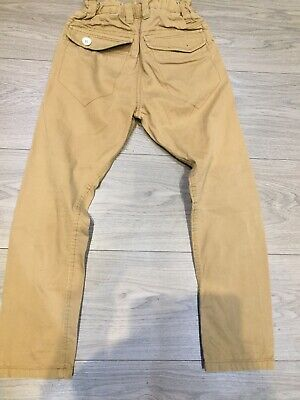 Tan  Brown Cargo Trousers Chino Size 6 Next