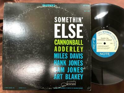 Cannonball Adderley Somethin' Else Blue Note Ua Bst 81595 Rvg Stereo Us Lp