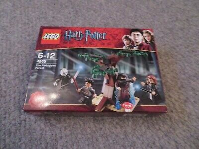 Harry Potter Lego Set 4865 The Forbidden Forest 100% Complete Used