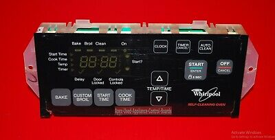 Whirlpool Oven Electronic Control Board - Part # 6610398, 8524304