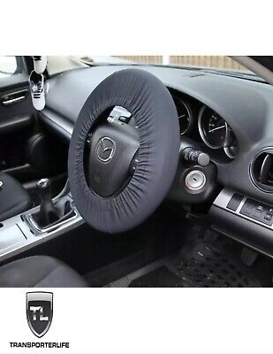 Disklok Security Car Steering Wheel Stretch Cover - Prevents Marks & Scratches