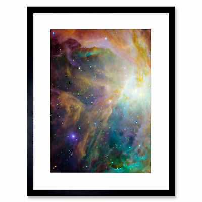 Space Orion Nebula Science Framed Art Print Poster 12x16 Inch