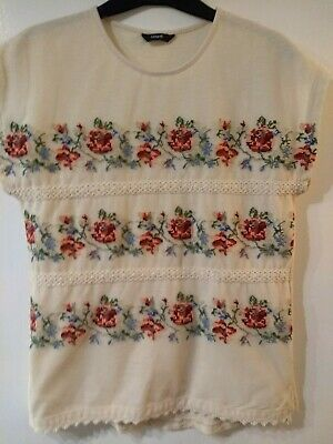 George Floral girls top Aged 13 to 14 years