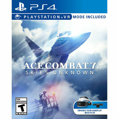 Ace Combat Skies Unknown Sony Playstation 4 Video Game PS4 Brand New