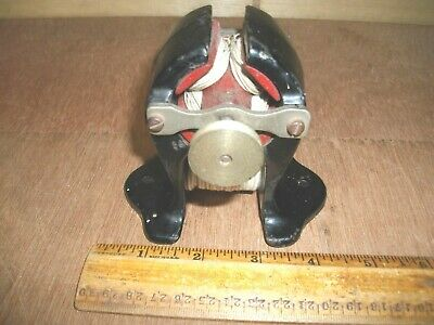 S334   Antique Electric Motor With Cast Iron Body