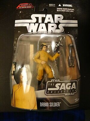 Star Wars The Saga Collection Nip Naboo Soldier Battle Of Naboo 2006 Hasbro