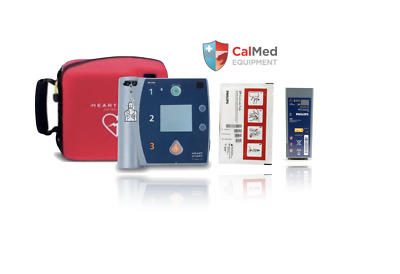 Philips HeartStart FR2+ AED Defibrillator 2 YEAR WARRANTY-New Pad 2022 & Battery