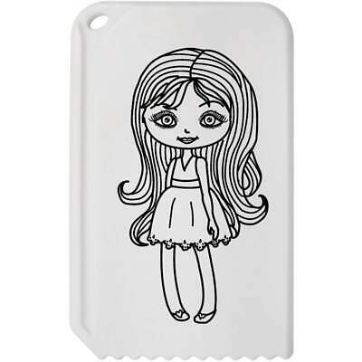 'Girl With Make Up' Plastic Ice Scraper (IC00004298)