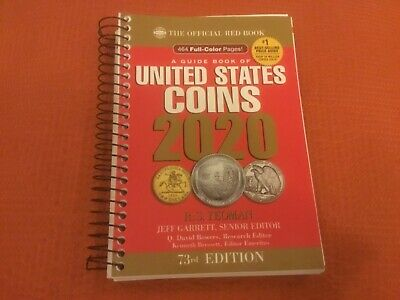 2020 Red Book United States Coins Large Print Edition 73rd Edition Guide Book