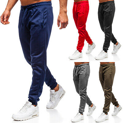 Trainingshose Sporthose Jogginghose Fitness Slim Fit Herren BOLF 6F6 Basic WOW